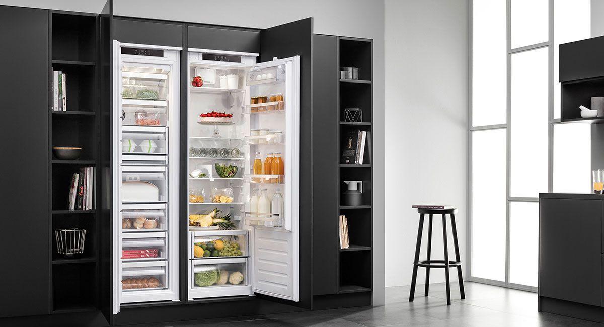 Side By Side Kühlschrank Einbaugerät : Kühlschrank küchen einbaugeräte elektrogeräte behrend solingen