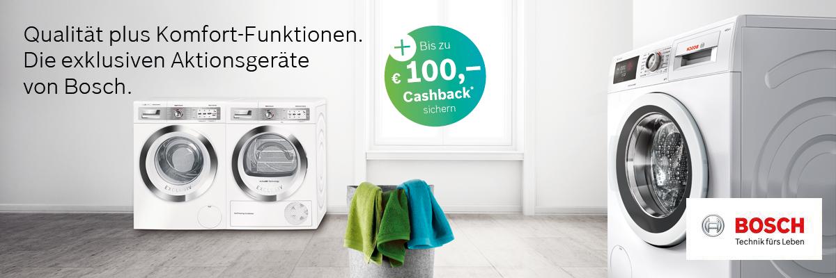 Bosch Cashback Aktion 2019 Kuchen Einbaugerate Elektrogerate